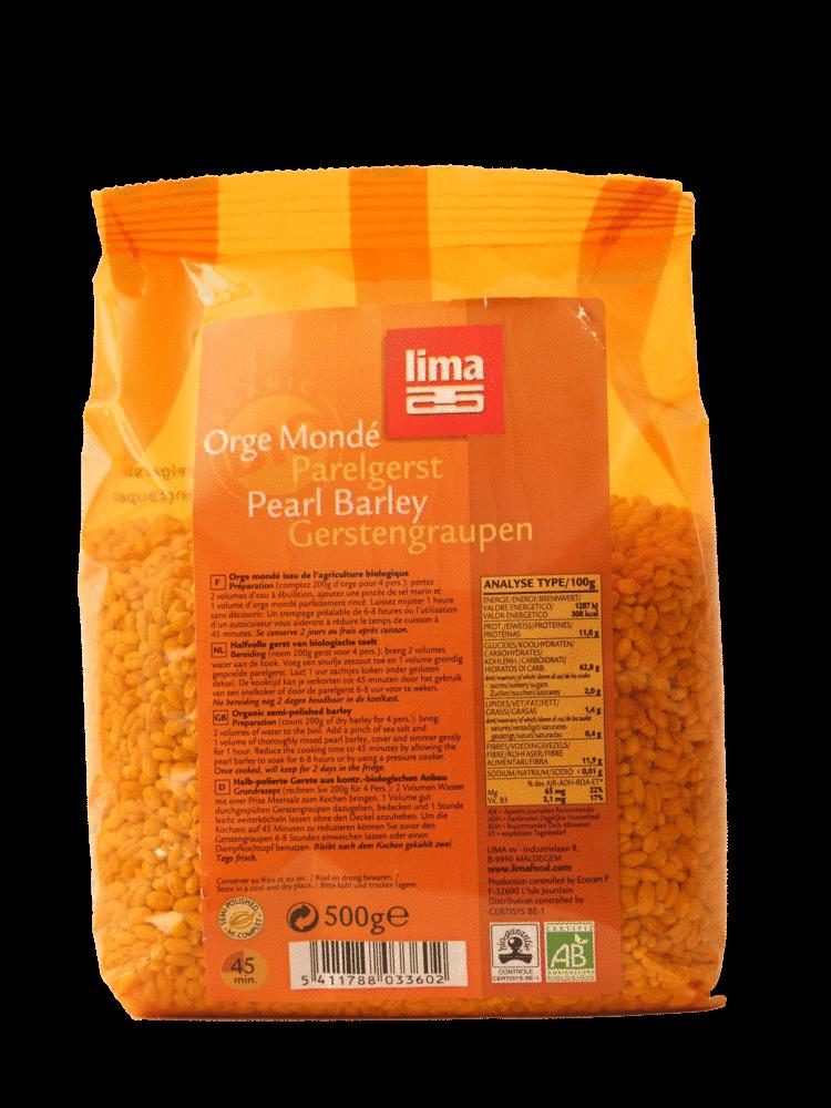 PEARL BARLEY   Lima Food