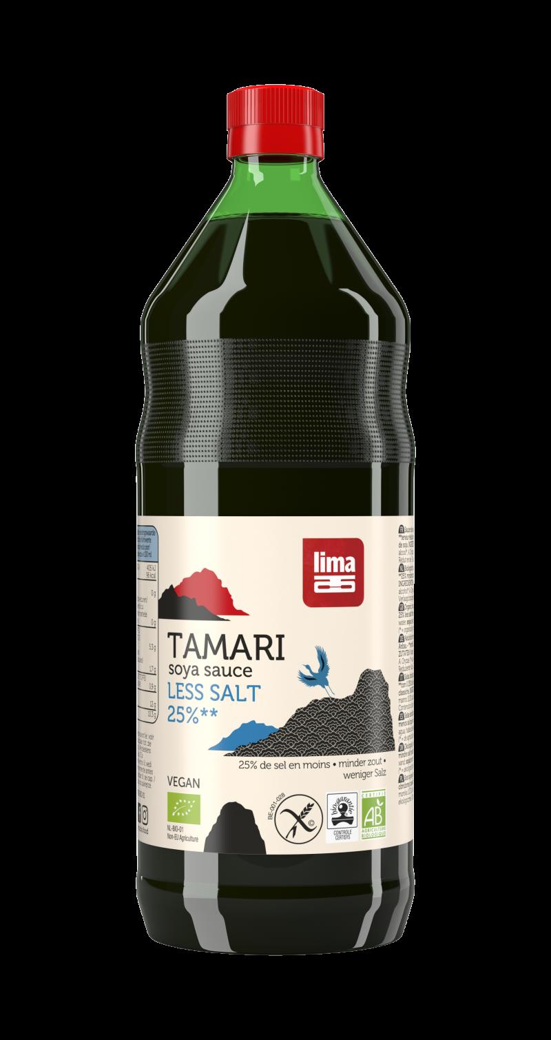 Tamari 25 Less Salt Lima Food